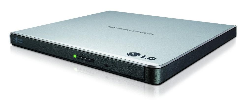 LG GP57ES40 Ultra Slim külső USB 8x DVD CD író-olvasó Ezüst ... 78db512b5b