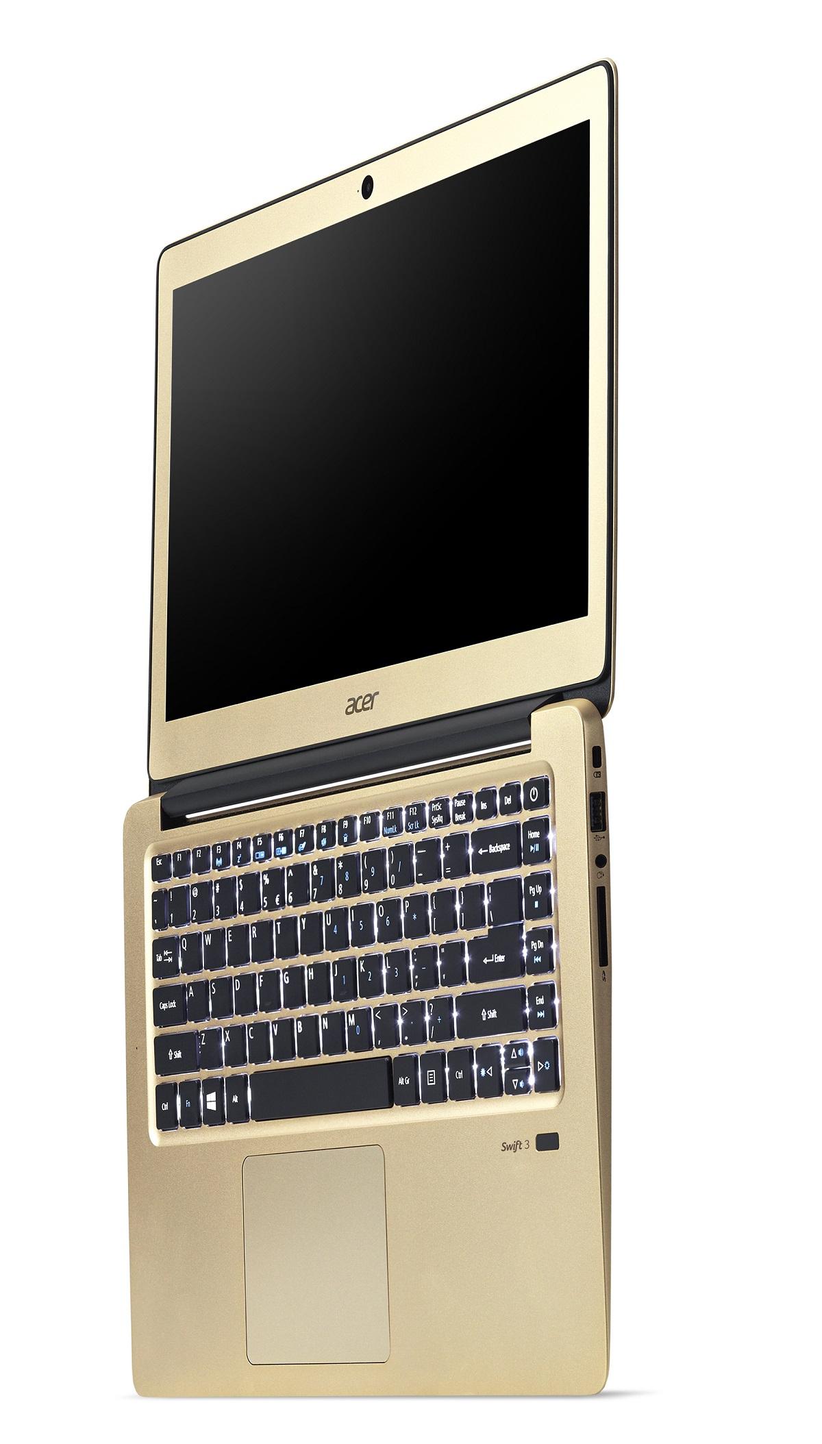 40a5cf28e6b4 acer Swift 3 Ultrabook - SF314-51-52VU - Arany - Matt kijelző - Már ...