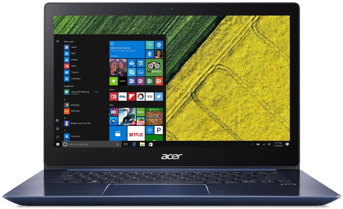 b02a38000e53 acer Swift 3 Ultrabook - SF314-52-509A - Kék - Már 2 Év Garanciával ...