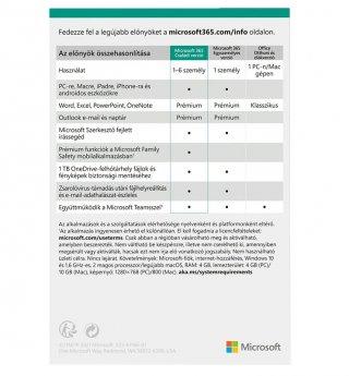 Microsoft 365 Otthoni verzió 6 felhasználó