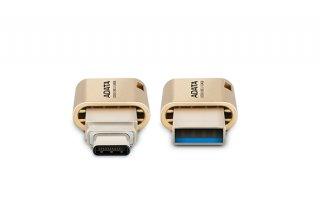 ADATA 64GB USB3.1 Type-C Arany pendrive