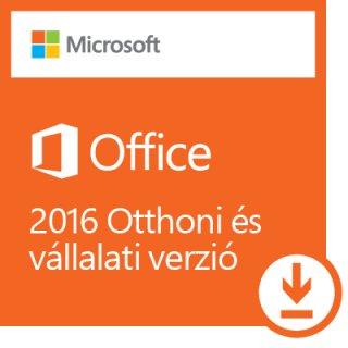 Microsoft Office 2016 Otthoni és kisvállalati verzió ESD (Letölthető)
