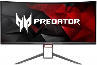 "Acer Predator X34P Nvidia G-Sync 4K Monitor 34"" UltraWide szemből"