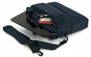 """Tucano Dritta Slim 15,6"""" Notebook táska - Kék"""