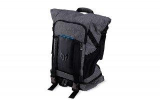 "Acer Predator Gaming Rolltop 15,6"" szürke-fekete-kék hátizsák"
