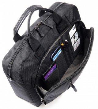 """Tucano Centro 15.6"""" üzleti laptop táska - fekete"""