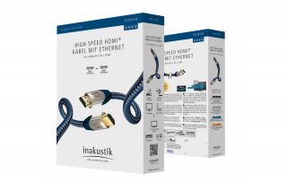 Inakustik Premium 1,5m High Speed Hdmi kábel
