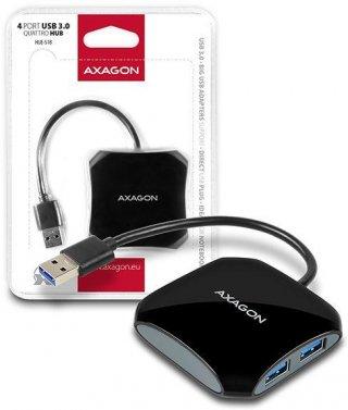 Axagon HUE-S1B 4 portos USB 3.0 HUB