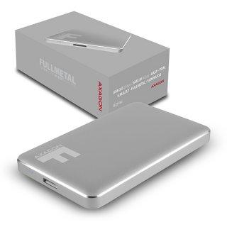 Axagon EE25-F6G Szürke HDD/SSD külső aluház
