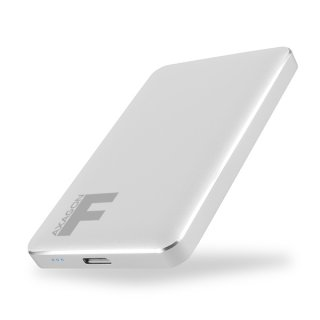 Axagon EE25-F6S Ezüst HDD/SSD külső aluház