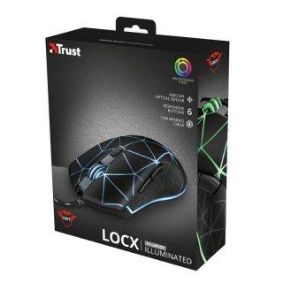 Trust GXT 133 Locx Gaming optikai egér