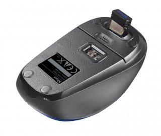 Trust Yvi Wireless Mouse vezeték nélküli kék egér