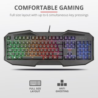 Trust GXT 830-RW Avonn Gaming Keyboard (HU)