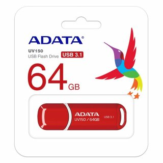 ADATA 64GB USB3.2 Piros Pendrive