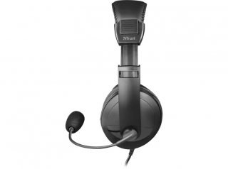 Trust Quasar mikrofonos fejhallgató - fekete