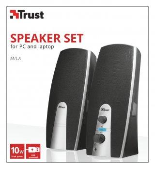 Trust Mila 2.0 sztereó hangfal