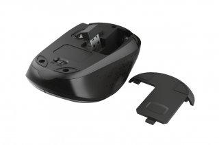 Trust Yvi Dual-Mode Wireless Mouse vezeték nélküli fekete egér