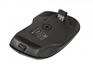 Trust Themo újratölthető ergonomikus wireless egér