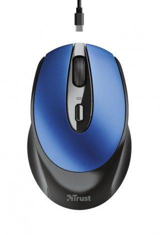 Trust Zaya Rechargeable Wireless Mouse - Kék
