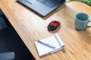 Trust Zaya Rechargeable Wireless Mouse - Piros