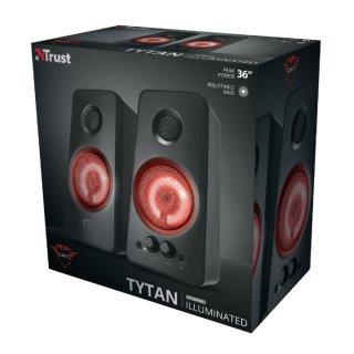 Trust GXT 608 Tytan megvilágított 2.0 hangszóró szett