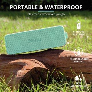 Trust Zowy Max vezeték nélküli Bluetooth hangszóró - Menta