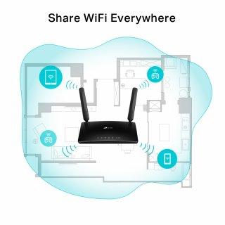 TP-Link TL-MR6500v 4G LTE+Telefon vezeték nélküli router