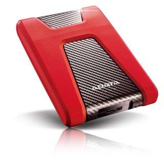 """ADATA HD650 2,5"""" 1TB USB3.2 ütésálló piros külső winchester"""
