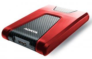 """ADATA HD650 2,5"""" 2TB USB3.2 ütésálló piros külső winchester"""