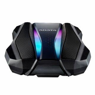 """ADATA AHD770G 2,5"""" 1TB USB3.2 RGB ütés és vízálló fekete külső winchester"""
