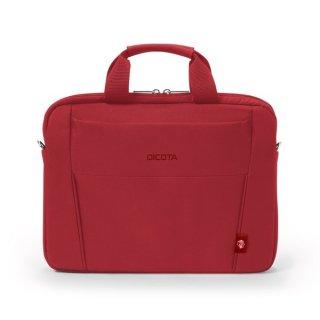 "Dicota Slim Case BASE Piros laptop táska 14"""