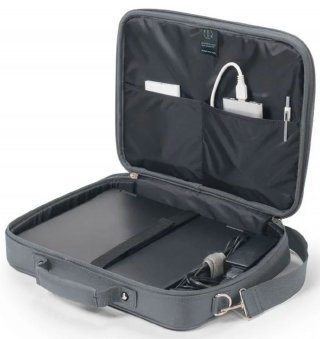 "Dicota Multi Base Szürke laptop táska 15,6"""